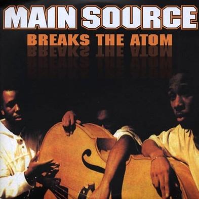 MAIN SOURCE / メイン・ソース / BREAKING ATOMS アナログ2LP