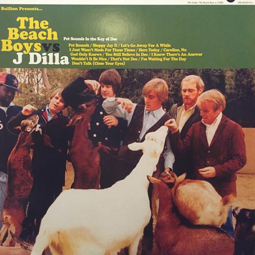 """BULLION / PET SOUNDS:IN THE KEY OF DEE (Jay Dee aka J Dilla) """"LP"""""""