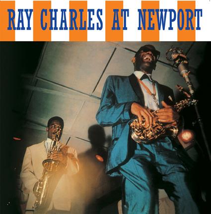 RAY CHARLES / レイ・チャールズ / AT NEWPORT (LP)