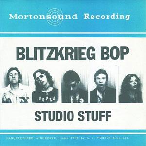 BLITZKRIEG BOP / STUDIO STUFF (LP)