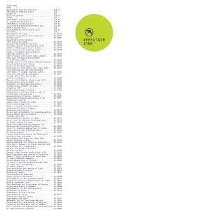 APHEX TWIN / エイフェックスツイン / SYRO (LP+MP3 DLコード)