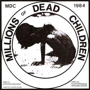 """M.D.C. / エムディーシー / CHICKEN SQUAWK (7"""")"""