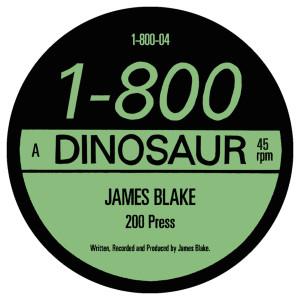 """JAMES BLAKE / 200 PRESS (12""""+7"""")"""