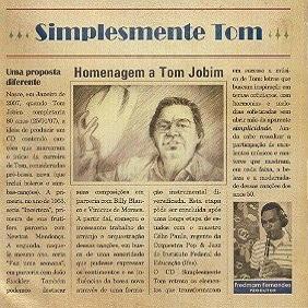 FREDMAM FERNANDES / フレドマン・フェルナンデス / SIMPLESMENTE TOM - HOMENAGEM A TOM JOBIM
