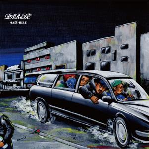 MASS-HOLE (DJ BLACKASS,MEDULLA) / マスホール / PAReDE