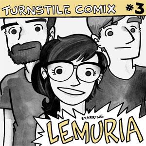 "LEMURIA (PUNK) / レムリア / TURNSTILE COMIX 3 (7""+BOOK)"