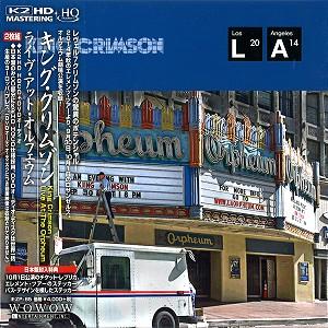 KING CRIMSON / キング・クリムゾン / ライヴ・アット・オルフェウム:CD+DVD - K2HD HQCD