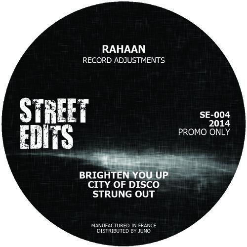 RAHAAN / RECORD ADJUSTMENTS