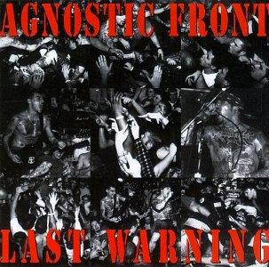 AGNOSTIC FRONT / アグノスティックフロント / LAST WARNING (COLOR LP)