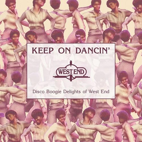 V.A. (KEEP ON DANCIN') / オムニバス / KEEP ON DANCIN' - DISCO BOOGIE DELIGHTS OF WEST END / キープ・オン・ダンシン - ディスコ・ブギー・デライツ・オブウエスト・エンド (2CD)