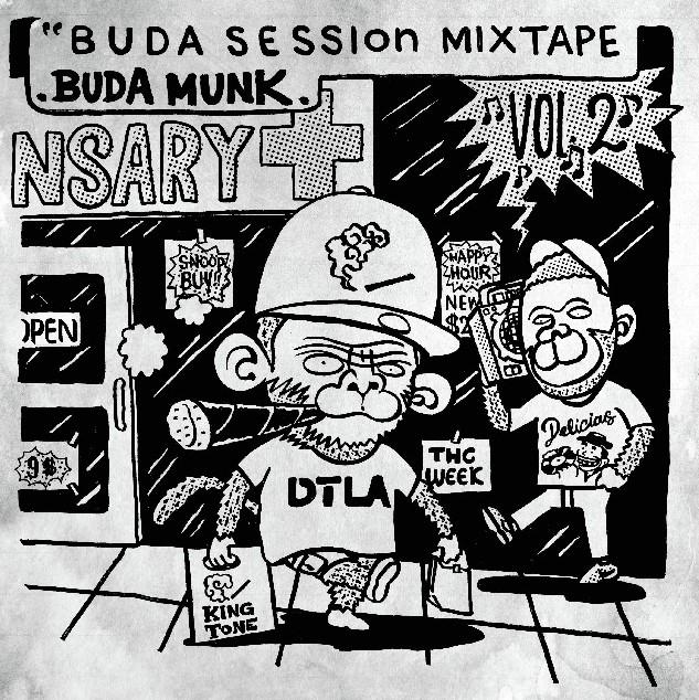 BUDAMUNK / ブダモンク / Buda Session MIXTAPE Vol.2