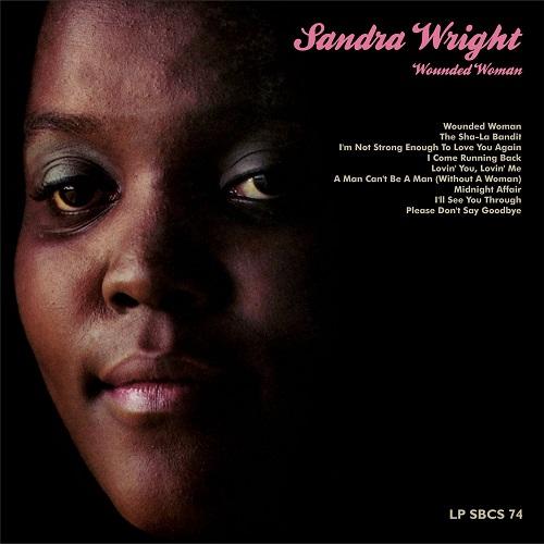 SANDRA WRIGHT / サンドラ・ライト / WOUNDED WOMAN / ウンデッド・ウーマン