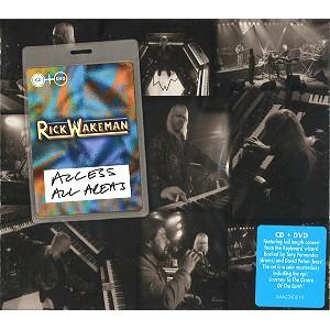 RICK WAKEMAN / リック・ウェイクマン / ACCESS ALL AREAS: CD+DVD