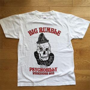 VA (BIG RUMBLE PRODUCTION) / YOUTH L/ビッグランブル2015 Tシャツ白ボディ