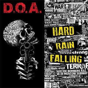 D.O.A. / ディーオーエー / HARD RAIN FALLING (LP)