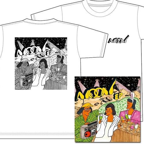 ZEN-LA-ROCK / MOON EP★ディスクユニオン限定T-SHIRTS付セットLサイズ