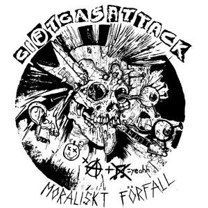 GIFTGASATTACK / MORALISKT FORFALL (LP)