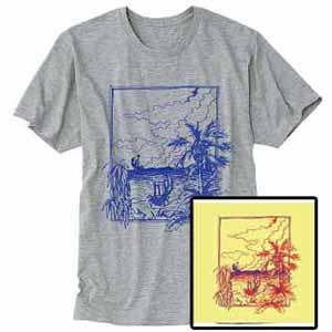 HIKARU meets KENICHI YANAI / ヒカル・ミーツ・ケンイチ・ヤナイ / EASY LISTENING? + Tシャツ (グレー/Lサイズ)