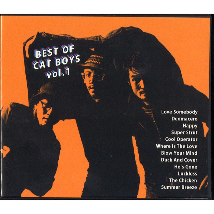CAT BOYS / キャット・ボーイズ / BEST OF CAT BOYS VOL.1 / ベスト・オブ・キャット・ボーイズ VOL.1