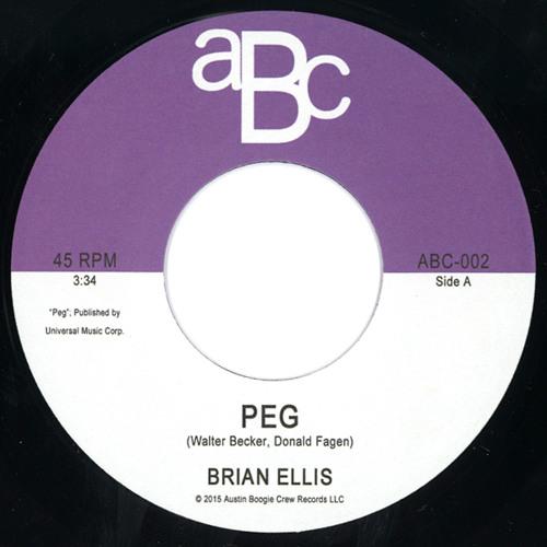 """BRIAN ELLIS / ブライアン・エリス / PEG / DREAM WAVE (7"""")"""
