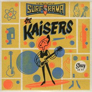 """KAISERS / カイザース / (BLUE VINYL) SURF O RAMA FESTIVAL EDITION (7"""")"""