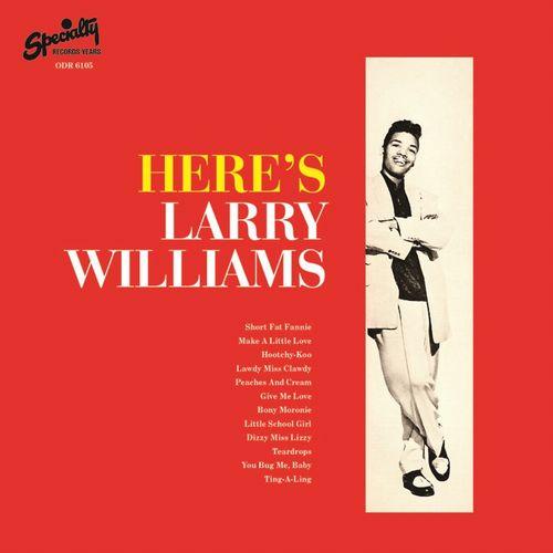 LARRY WILLIAMS / ラリー・ウィリアムス / HERE'S LARRY WILLIAMS / ヒアズ・ラリー・ウィリアムス
