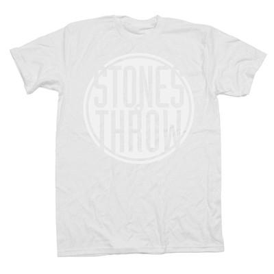 Stones Throw T-Shirt / ストーンズ・スロウ Tシャツ / CLASSIC LOGO WHITE SIZE L