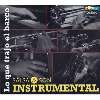 JOSE AGUIRRE / ホセ・アギーレ / LO QUE TRAJO EL BARCO SALSA Y SON INSTRUMENTAL