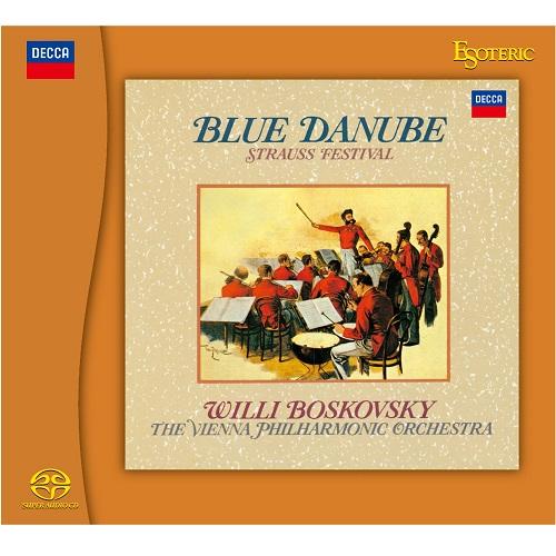 WILLI BOSKOVSKY  / ヴィリー・ボスコフスキー / BLUE DANUBE - STRAUSS FESTIVAL / シュトラウス・コンサート