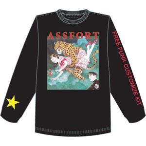 ASSFORT / M/ASSFORT FREE PUNK CUSTOMIZE KIT LONG SLEEVE BLACK