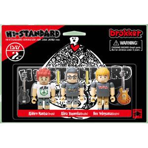 Hi-STANDARD / brokker Hi-STANDARDフィギュア(DAY2ver.)