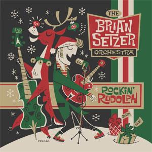 BRIAN SETZER ORCHESTRA / ROCKIN RUDOLPH (LP)