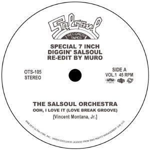 DJ MURO / DJムロ / DIGGIN' SALSOUL - RE-EDIT BY MURO VOL.1