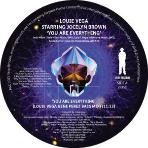 LOUIE VEGA STARRING JOCELYN BROWN / ルイ・ヴェガ・スターリング・ジョセリン・ブラウン / YOU ARE EVERYTHING