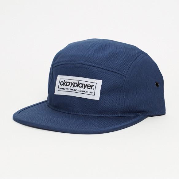 V.A. (OKAYPLAYER) / 5-PANEL CAMPER HAT (BLUE)