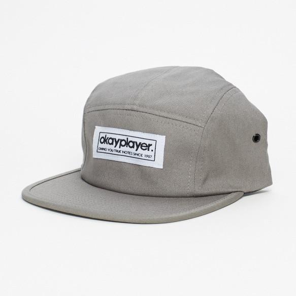 V.A. (OKAYPLAYER) / 5-PANEL CAMPER HAT (GREY)