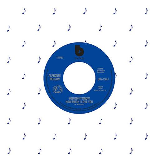 "ALPHONSE MOUZON / BOBBI HUMPHREY / アルフォンズ・ムゾーン / ボビー・ハンフリー / YOU DON'T KNOW HOW MUCH I LOVE YOU / BLACKS AND BLUES / ユー・ドント・ノウ・ハウ・マッチ・アイ・ラヴ・ユー / ブラックス・アンド・ブルース (7"")"