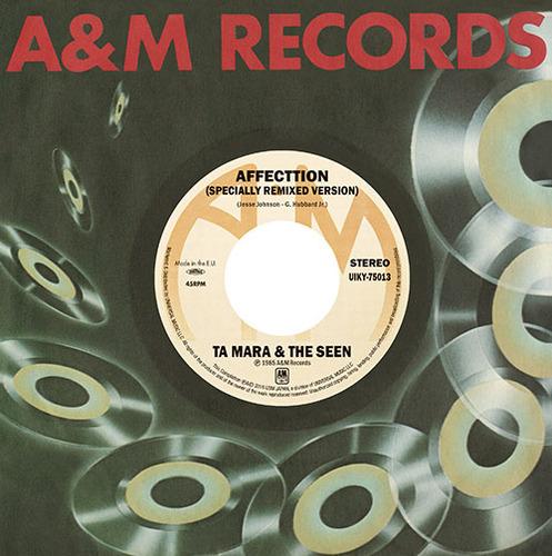 """TA MARA & THE SEEN / DONALD BYRD / タ・マラ&ザ・シーン / ドナルド・バード / AFFECTION / YOU AND MUSIC / アフェクション / ユー・アンド・ミュージック (7"""")"""