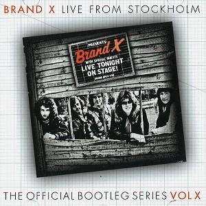 BRAND X / ブランド・エックス / LIVE IN STOCKHOLM 1978