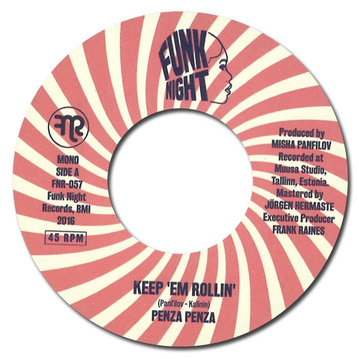 """PENZA PENZA / KEEP 'EM ROLLIN' / RHYTHM 16 (7"""")"""