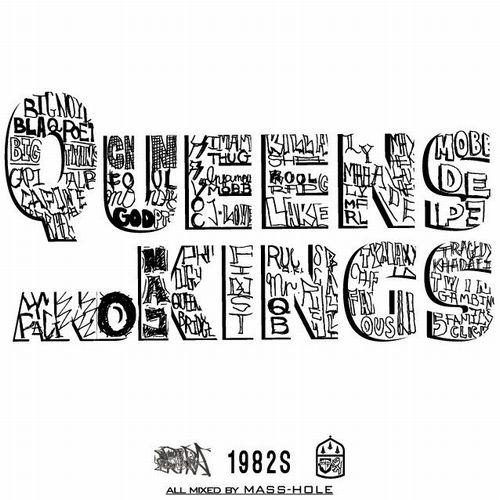 MASS-HOLE (DJ BLACKASS,MEDULLA) / マスホール / QUEENS & KINGS