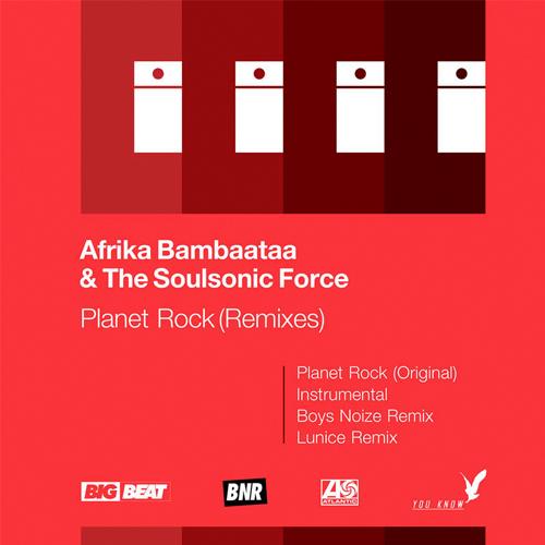 AFRIKA BAMBAATAA & SOUL SONIC / PLANET ROCK (RSD 2016)