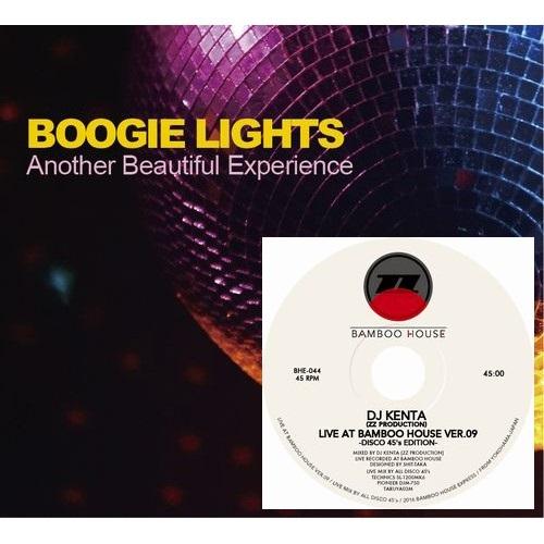 DJ KENTA (ZZ PRO) / DJケンタ / BOOGIE LIGHTS -Another Beautiful Experience-★ディスクユニオン限定2CDセット