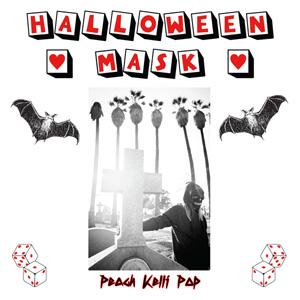 "PEACH KELLI POP / HALLOWEEN MASK (7"")"