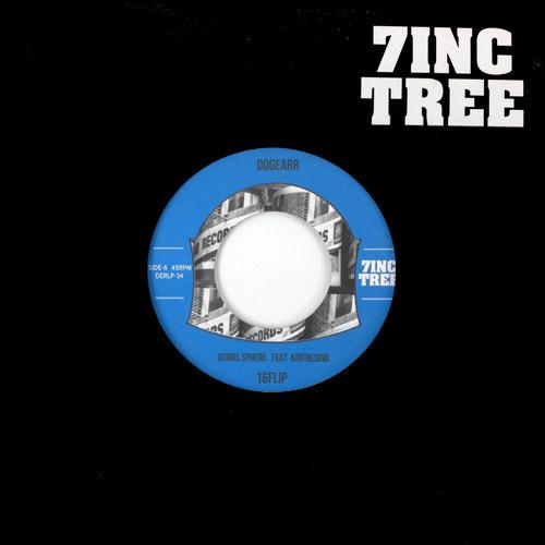 "16FLIP (MONJU,DJ KILLWHEEL) / 16フリップ / Atmos Sphere feat. Kidfresino prod 16FLIP ""7"""