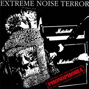 EXTREME NOISE TERROR / PHONOPHOBIA (LP)