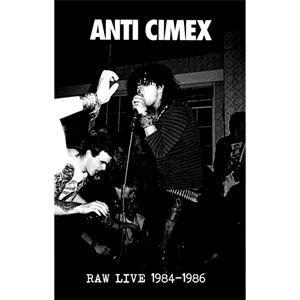 ANTI CIMEX / アンチサイメックス / RAW LIVE 1984-1986 (CASSETTE)