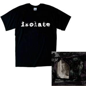 isolate / ホームシック Tシャツ付 (Mサイズ)