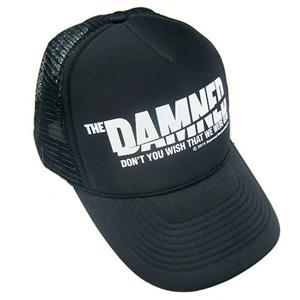 DAMNED / 映画 THE DAMNED「地獄に堕ちた野郎ども」TRUCKER MESH CAP BLACK x WHITE