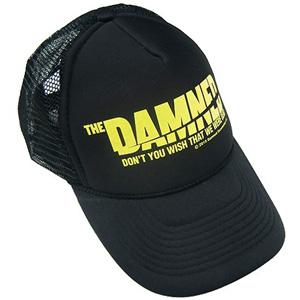 DAMNED / 映画 THE DAMNED「地獄に堕ちた野郎ども」TRUCKER MESH CAP BLACK x YELLOW